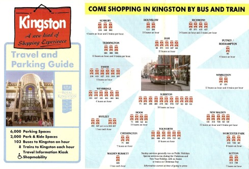 Kingston: A new kind of Shopping Experience Leaflet